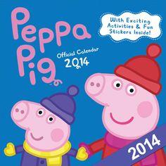 Peppa Pig Official 2014 Wall Calendar