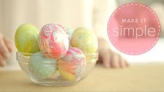 Nail Polish Easter Eggs- Make It Simple