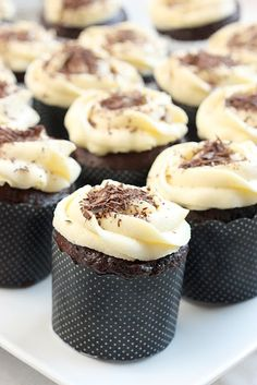 Delicious Black Forest Cupcakes with Port & Flour Frosting recipe