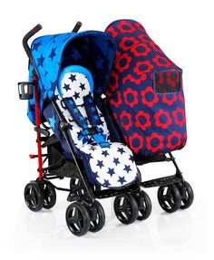 2f213ac5f4 Cosatto To   Fro Duo Twin Stroller Hotchpotch The handiness of a compact  folding double pushchair