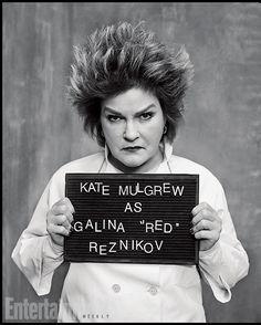 "Orange Is the New Black | Galina ""Red"" Reznikov played by Kate Mulgrew"