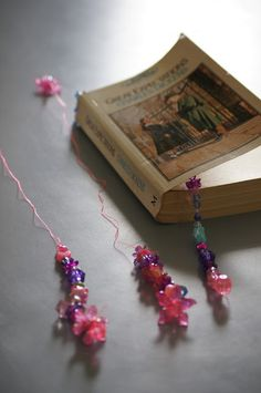 Teapots and Tractors - {Craft} Beaded Bookmarks