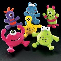 Monster Birthday Party Favor Ideas