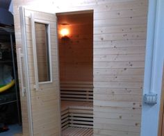 how to make a sauna at home