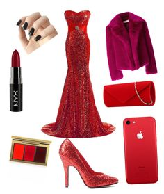 """""""Untitled #13"""" by emmaca-varga on Polyvore featuring Dries Van Noten, Incoco, NYX and MAC Cosmetics"""