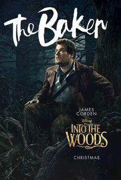 Into The Woods Gets Animated with New Character Portraits - James Corden as The Baker! I'm a fan.