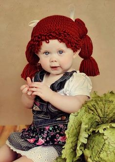 Cabbage Patch Hat - I am legit getting this for E...I mean, seriously, how could I not!