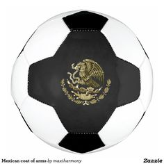 Mexican coat of arms soccer ball