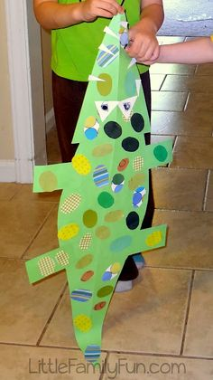 Little Family Fun: Alligator Craft