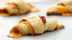 Croissant con scamorza e prosciutto