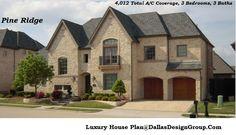 The Pine Ridge - luxury house Plan 972-907-0080