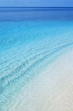 An aspect of God: seen as a peaceful and beautiful ocean — blue...is only a small reflection of the universe He created.