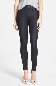 J Brand 'Maria' High Rise Skinny Jeans (After Dark) available at Nordstrom (just bought these)