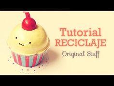 Cupcake - Caja/Carta [Reciclaje] - Original Stuff - YouTube