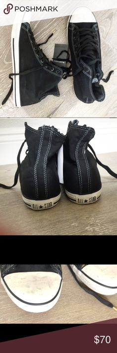 designer converse john varvatos m9g1  Used John varvatos chuck Taylor high tops Size 95  limited Edition Converse  Shoes Sneakers