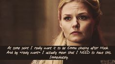 Captain Swan. Emma. Hook. Once Upon a Time. So true. Would also love to see this!
