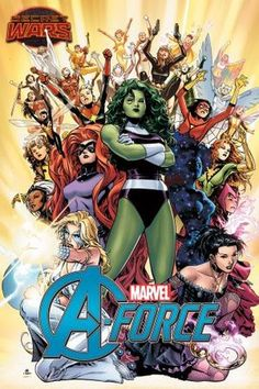"She-Hulk, Medusa, Dazzler and new character Singularity team up in new comic book series ""A-Force"" to fight the good fight after the Avengers disband during Marvel's Secret Wars."