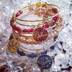 Shop ALEX AND ANI's jewelry sets. Match, stack & wrap with our collection of stackable bracelets, charm bracelet sets & layered necklaces. Alex And Ani Jewelry, Alex And Ani Bracelets, Stackable Bracelets, Jewelry Bracelets, Jewellery, Bangle Set, Bracelet Set, Xmas Wishes, Jewelry Sets