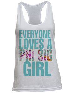 Phi Sigma Sigma Everyone Loves Tank- Love it in shirt form!