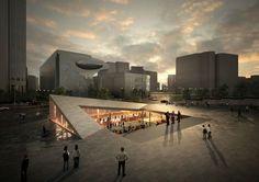 Anunciados os vencedores do concurso para projetar uma praça cultural em Seul,Seoul Living Room. Imagem