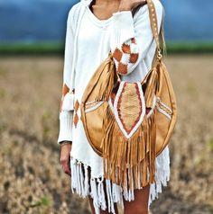 Cameroon bag - Bohemian leather www.mahiya.com.au