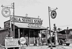 Oklahoma City Texaco station
