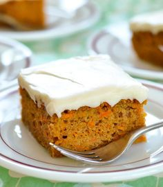 Recipe: Carrot Cake with Cream Cheese Frosting — Dessert Recipes from The Kitchn | The Kitchn