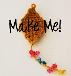 Maize Hutton: My Crocheted Kite Pattern