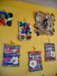 Les travaux de maternelle et autres niveaux...: RECYCLAGE