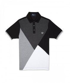 www.brokencherry.com  fredperry  mod  fashion Argyle Cut and Sew Polo 1a06b276b65