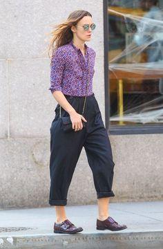 Venha conhecer mais sobre o estilo da linda atriz Keira Knightley.