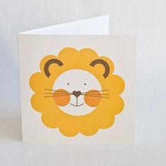 Лев открытка своими руками, делать открытку своими