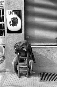 Afternoon siesta, Crete, 1955 by Erich Lessing