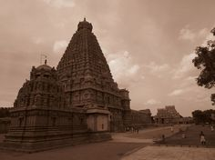 The Great Chola temple.