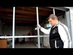 DIY Garage lifting door.  Подъёмные ворота своими руками