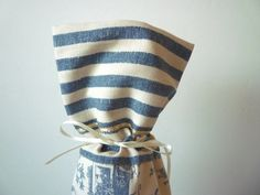 Blue Country Cottage Wine Bottle Gift Bag 100 by TaMuidBeo on Etsy, $6.00