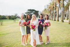 Colourful Melbourne Rooftop Wedding   Photo by This Day Forward http://thisdayforward.com.au/