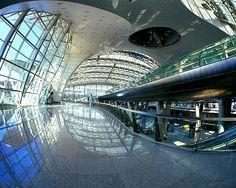 仁川国際空港の庭園
