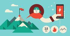 PoketRoket App illustration on Behance