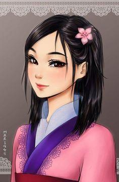 Si las princesas Disney fueran personajes de Anime