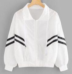 Sweatshirt Outfit, Blouses For Women, Jackets For Women, Womens Windbreaker, Summer Jacket, Cotton Viscose, Sports Jacket, Jacket Style, Shirt Blouses