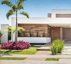 Top 10 Modern house designs – Modern Home Facade Design, Exterior Design, Architecture Design, House Front Design, Modern House Design, Modern House Facades, Dream House Exterior, House Entrance, Facade House