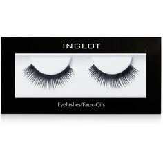 Inglot Eyelashes found on Polyvore featuring beauty products, makeup, eye makeup, false eyelashes, faux eyelashes and fake eyelashes