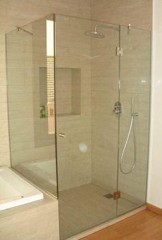 mamparas de baño empavonadas - Buscar con Google