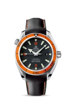 2909.50.82 : Omega Seamaster Planet Ocean 600M Co-Axial 42mm Orange / Rubber