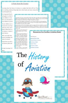 aviation history lesson, the history of aviation, aviation history, aviation