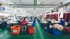 Hangzhou China: Silk Cut-And-Sew.