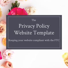 the most common legal issue i see with creative business owners is their violation of federal law by failing to include a privacy policy on their website