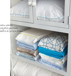 Saiba mais: Cuidando bem da roupa de cama