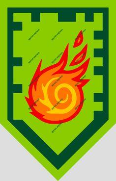 LEGO Nexo Knights Power - Aaron - Rolling Fireball   spyrius.org